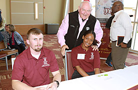 U.S. Secretary of Agriculture Sonny Perdue came to Central State University on Thursday