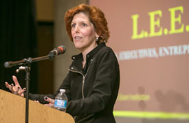 Dr. Loretta J. Mester, President and Chief Executive Officer of the Federal Reserve Bank of Cleveland, delivered a pragmatic and yet visionary message at Central State University focused on the necessity of inclusiveness in the field of Economics.