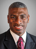 photo of Dr. B. Sherrance Russell, Vice President for Student Affairs and Enrollment Management.