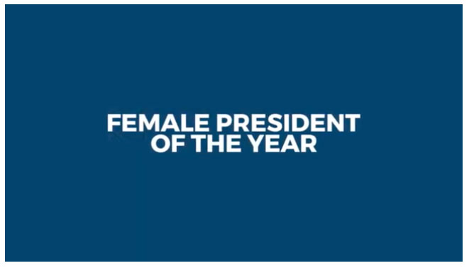 Female President of the Year