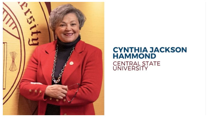 Dr. Cynthia Jackson-Hammond - Central State University