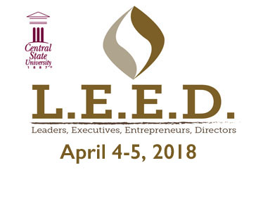 link to LEED program page, LEED Leaders, Executives, Entrepreneurs, Directors, April 5-6, 2017, Charles S. Smith Hall, Auditorium