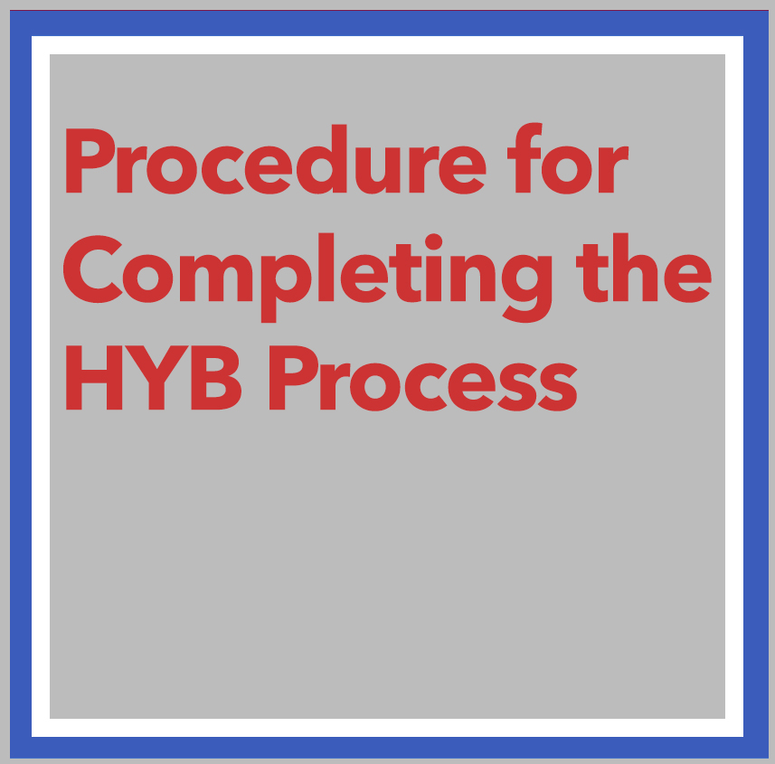link to Procedure for HYB Process page