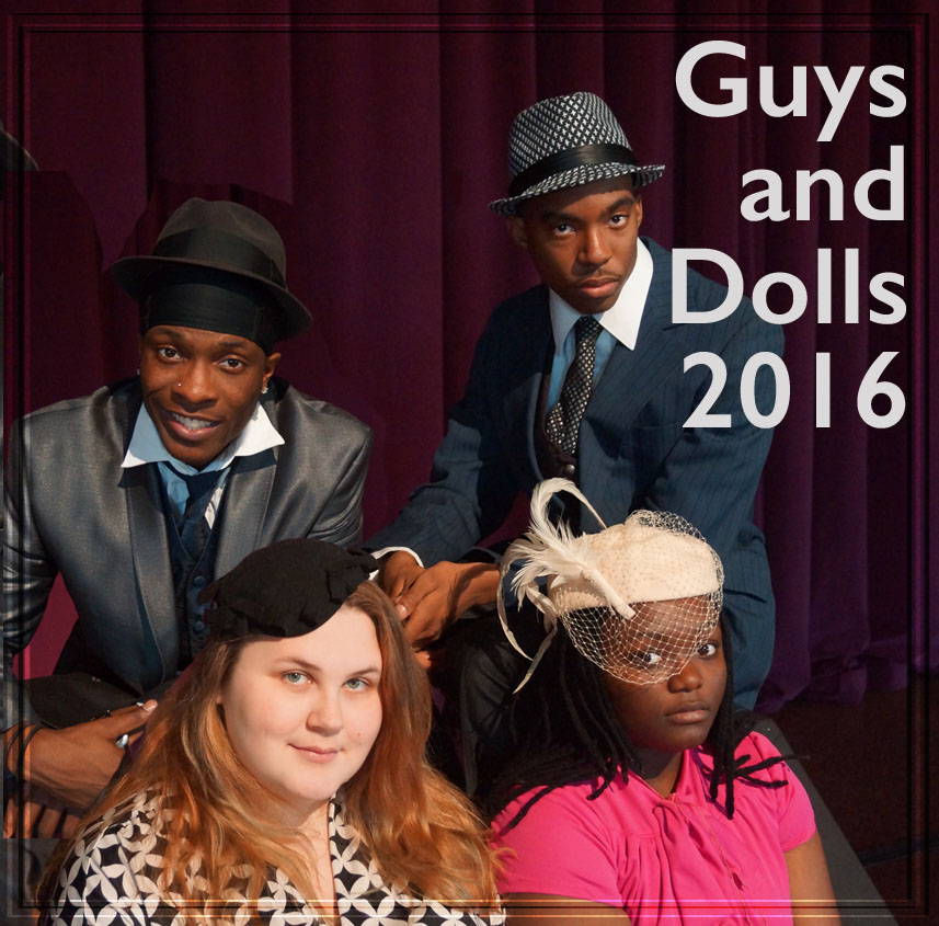 link to Guys and Dolls 2016 page, Guys and Dolls 2016