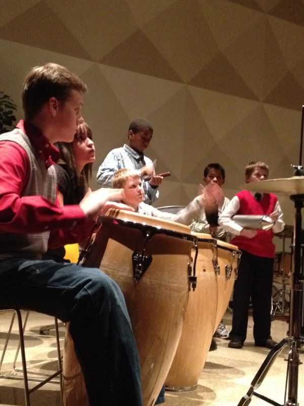 photo from the Music Makers program at Central State University, Wilberforce Ohio.
