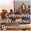link to Community and Economic Development page, Community and Economic Development