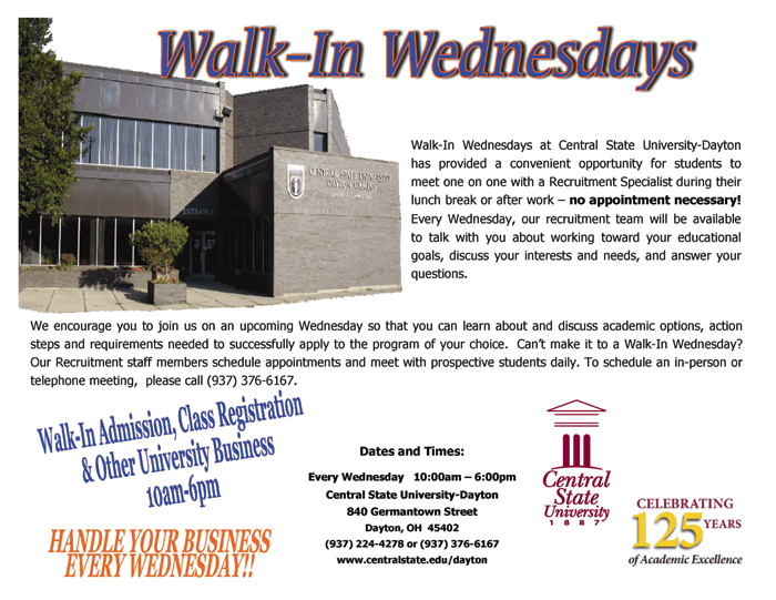 Walk-In-Wednesday
