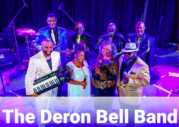 photo of deron bell band