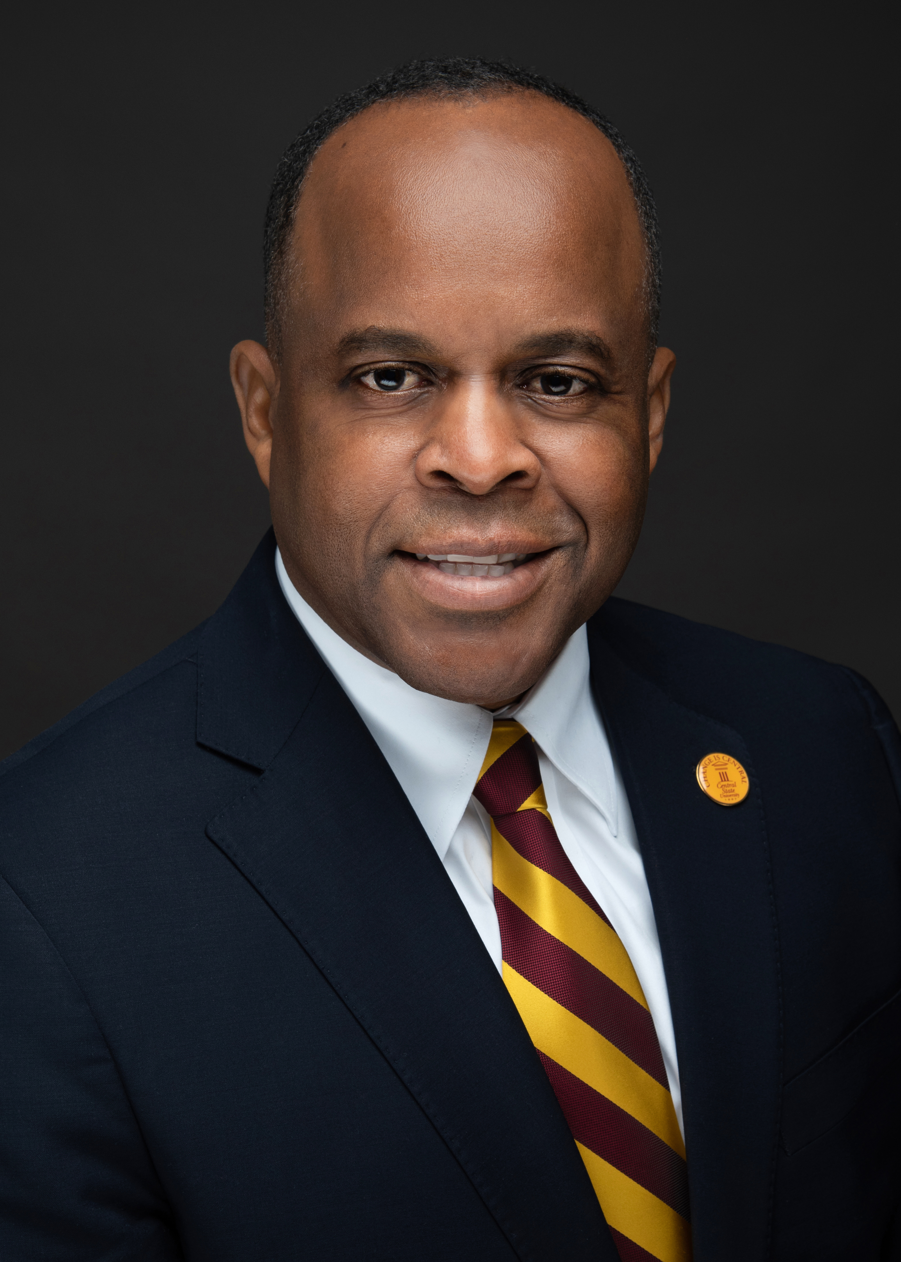 photo of Central State University President Dr. Jack Thomas